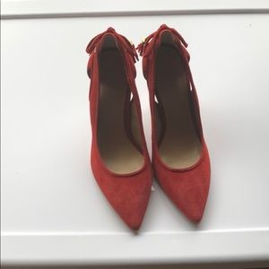 Authentic Michael kors red pumps size7